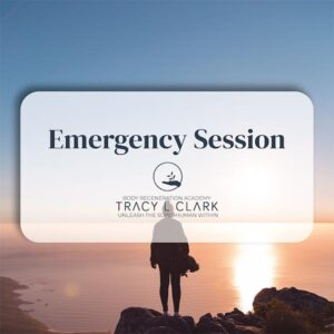 Emergency Session with Tracy L Clark
