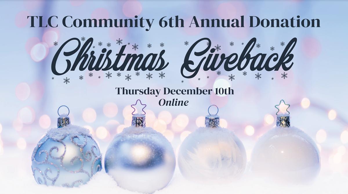 christmas giveback event december 10 2020