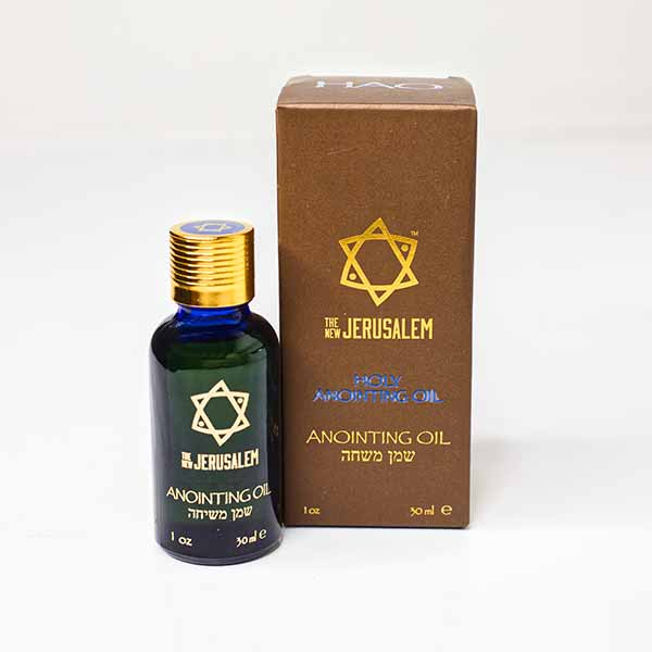 Anointing Oil, Holy