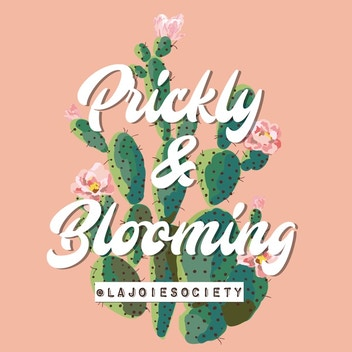 Prickly and Blooming Podcast Logo